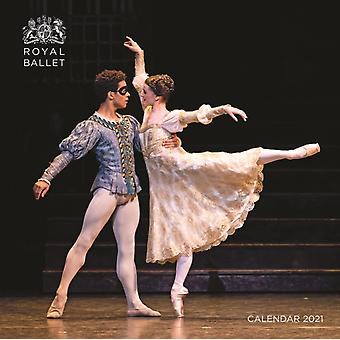 De Royal Ballet Wall Calendar 2021 Art Calendar door Gemaakt door Flame Tree Studio