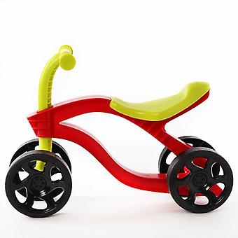 4 Wheels's Push Scooter Balance Bike Walker Infant Scooter Bicycle, Outdoor
