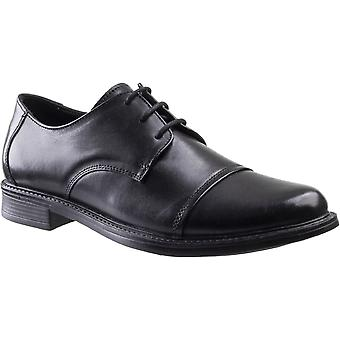Amblers hombres's bristol cordones zapato negro 30073