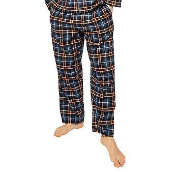 Cyberjammies Arthur 6523 Men's Blue Mix Tarkista Pyjama Pant