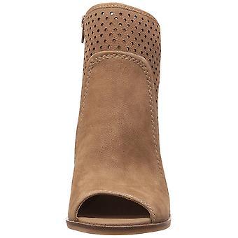 Lucky Brand Womens LK-Lakmeh NuBuck Peep Toe Ankle Fashion Boots