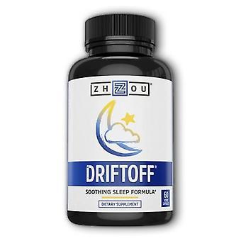 Zhou Nutrition Driftoff, 60 Veg Caps