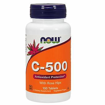 עכשיו ממזון ויטמין C-500, 100 טבליות