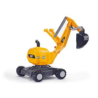 Rolly toys caterpillar mobile 360 degree excavator for 3-5 year old-yellow