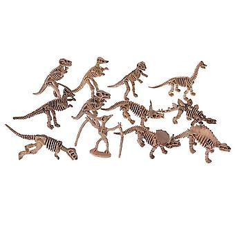 Dinosaur Skeleton Fossils Assorted Bones Figures Kids Christmas