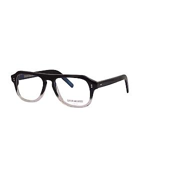 Cutler and Gross 0822V2 BCF Black to Clear Fade Glasses