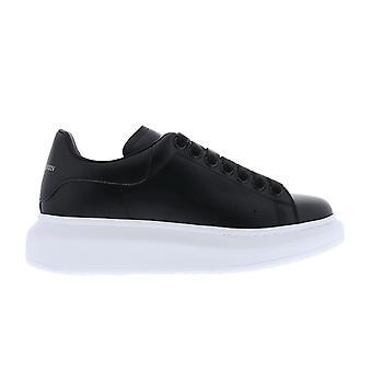 Alexander McQueen Sneaker Pelle S.Gomm Larr Musta 553770WHGP01000 kenkä