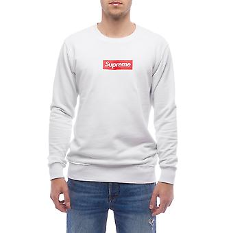 Sweatshirt White Supreme Grip Men