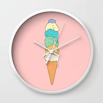 Melting Icecream Wall Clock