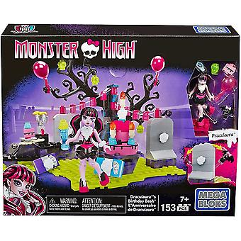 Mega Bloks Monster High Draculaura's Birthday Party Set Doll Docka