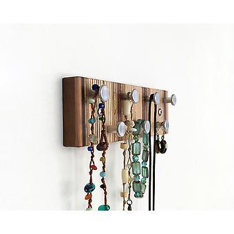 Wall Mountable Minimalist Modern Style Jewelry Rack