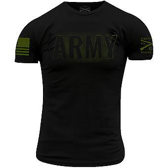 Grunt Style Army - Pimennys T-paita - Musta