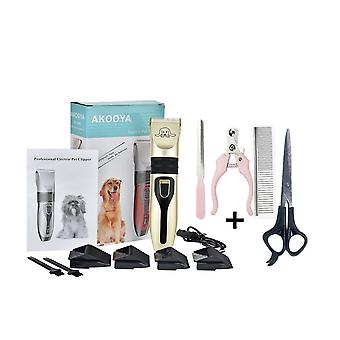 Hond Clippers, Low Noise Pet Scheerapparaat, Oplaadbare Trimmer, Grooming Tool