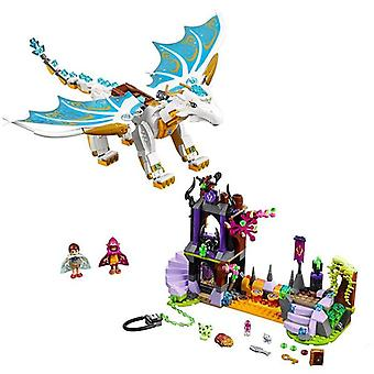 New Elves Fairy Long After Rescue Dragon, Fit Building Blocks