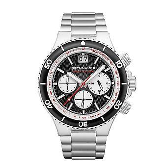 Montre-bracelet Spinnaker SP-5086-11 Gent's Hydrofoil Black Dial
