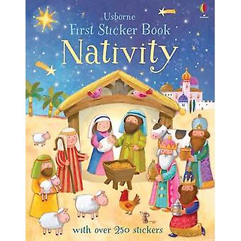 First Sticker Book Nativity First Sticker Books First Sticker Books series
