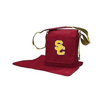 USC Trojans NCAA LilFan Diaper Messenger Bag