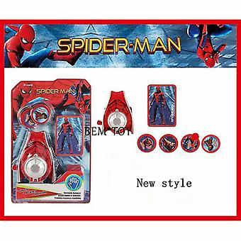 جديد الرجل العنكبوت البلاستيك Cosplay الرجل العنكبوت القفازات قاذفة