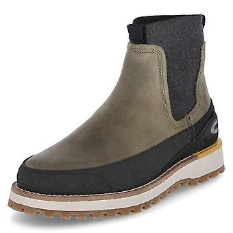 Camel Pilgrim 21251311C711MILITARYGREEN universal winter men shoes