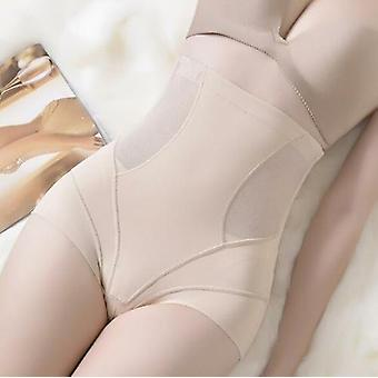 High Waisted Tuck Pants Thin Corset Underwear