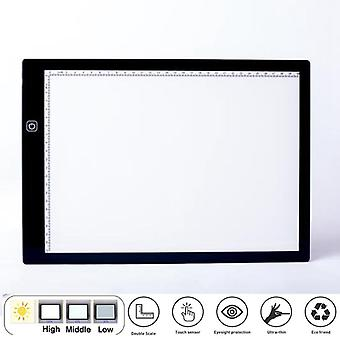 Electronic Art Painting Pad Tipo C Led Dibujo Tablet con Stand