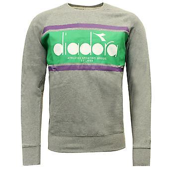 Diadora Sportswear Mens Crew Spectra Moletom Jumper 502.173795 C7518 A62B