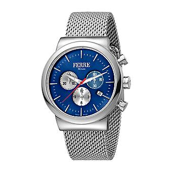 Ferre Milano Gents D.Blue Dial  MB Watch