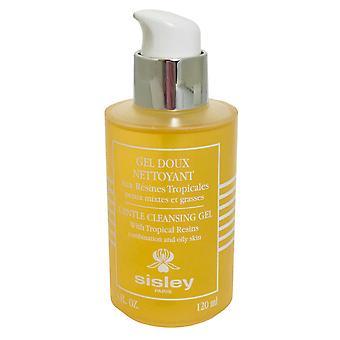 Gel nettoyant doux Sisley avec résine tropicale 120ml combinaison et peau grasse
