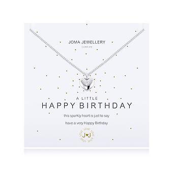 Joma Jewellery Um colar de feliz aniversário 1092