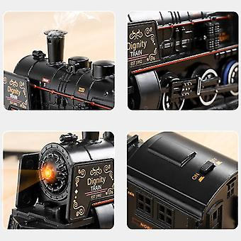 Electric Train Toy Rails Remote Control Model Railway Set Dynamic Steam Rc