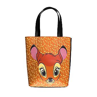 Disney Bambi Face Brown Shopping Bag
