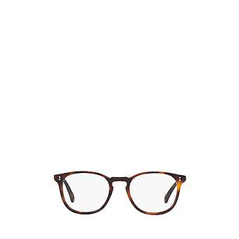 Oliver Peoples OV5298U puolimatta tumma mahonki unisex silmälasit