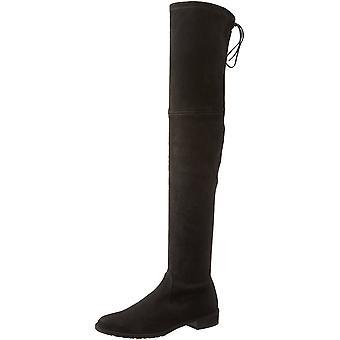 Stuart Weitzman Womens The lowland Fabric Closed Toe Knee High Fashion Boots