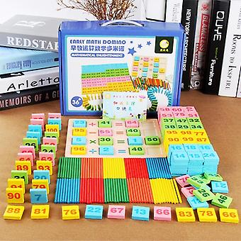 Building Block Cognitive Digital Domino Wooden Puzzle