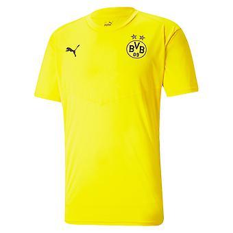 2020-2021 Borussia Dortmund Warmup Tee (Keltainen)