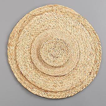 Käsintehty kudonta liukumaton Placemat Coaster Corn Hull