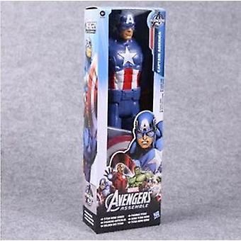Ultimate Spiderman Captain America Iron Man Pvc Action Figure Collectible Model Toy For Kids Children's Toys