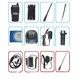 Portable Radio Walkie Talkie Baofeng Uv-82 Dual Ptt Button Two-way Radio