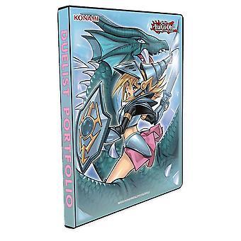 Yu-Gi-Oh! Dark Magician Girl The Dragon Knight 9-Pocket Duelist Portfolio 180 Cards
