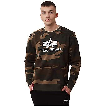 Alpha Industries Basic Sweater Camo Wdl 65 178302C408 sweatshirts homme universel