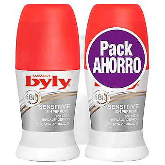Byly Sensitive Deodorant without Perfume 2 pieces