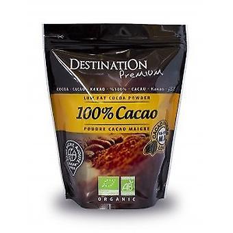 الوجهة النقية الكاكاو العجاف 10-12٪ 250 gr