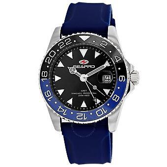 Seapro Agent Quartz Black Dial Men's Watch SP0123