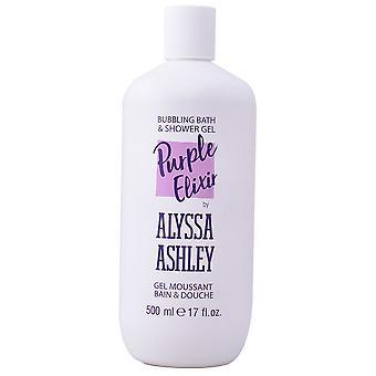 Alyssa Ashley Gel douche et bain à bulles violetit 500 ml