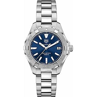 Tag Heuer Women's Aquaracer Blue Dial Watch - WBD1312.BA0740