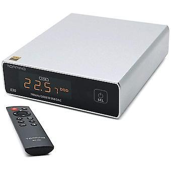 FengChun Topping E30 HiFi DAC AK4493 Chip USB Optisch Koaxial DAC DSD512 32Bit/768kHz Tragbarer