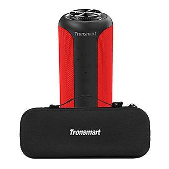 Tronsmart T6 Plus Bluetooth 5.0 Soundbox with Storage Bag - Wireless Speaker External Wireless Speaker Red