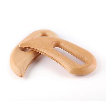 Træ Gua Sha Tool, Skrabe Board Massage Tool, Body Massage Therapy Tool.