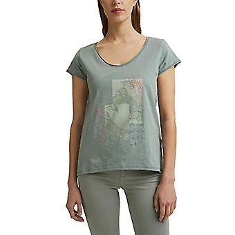 ESPRIT 031EE1K337 T-Shirt, 470/turquoise, XS Dames