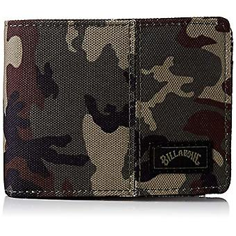 TIDES WALLET BILLABONG MILITARY PRESS SHEET, (Multicolored (Camouflage)), One Size